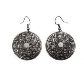 """Earrings """"Segner's wheel"""""""