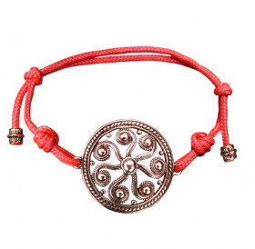 "Bracelet-lace ""Segner's wheel"""