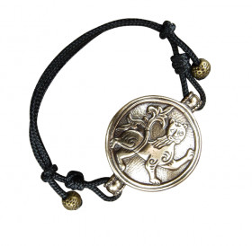"Bracelet-cord ""Mighty lion"""