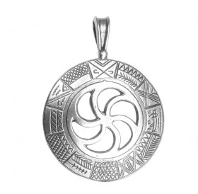 "Cut pendant ""Old Slavic calendar"""