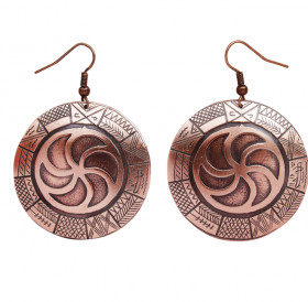 "Earrings ""Ancient Slavic calendar"""