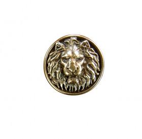 Пуговица «Лев рычащий»
