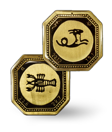 MAGNETS WITH ZODIAC SIGNS